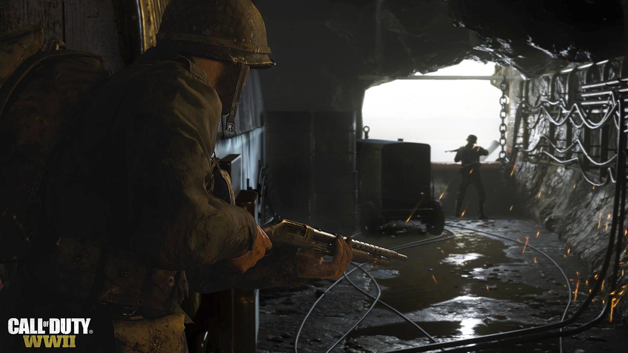 CODWWII Bunker Battle