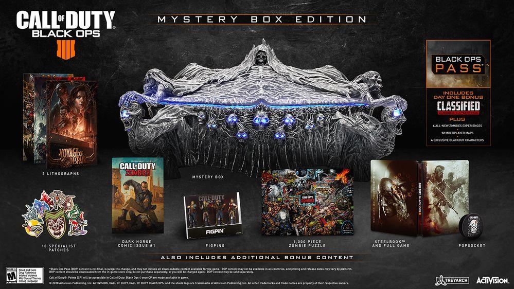 BO4 Mystery Box